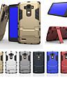 Pour Coque LG Antichoc Avec Support Coque Coque Arriere Coque Armure Dur Polycarbonate pour LG LG G4