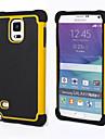 Pour Samsung Galaxy Note Antichoc Coque Coque Arriere Coque Armure Polycarbonate pour Samsung Note 4 Note 3