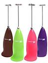 다기능 사탕 색 미니 스테인리스 전기 거품기 (색상 랜덤)