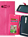 For Samsung Galaxy Case Card Holder / Wallet / with Stand / Flip Case Full Body Case Solid Color PU Leather SamsungXcover 3 / Trend Lite