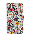 For Samsung Galaxy Case Wallet / Card Holder / with Stand / Flip Case Full Body Case Flower PU Leather Samsung S5 Mini / S4 Mini / S3 Mini