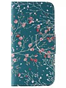 Apricot Tree Painted PU Phone Case for Galaxy S6edge Plus/S6edge/S6/S5/S5mini/S4/S4mini/S3/S3mini