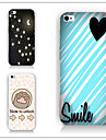 For iPhone 6 Case / iPhone 6 Plus Case Pattern Case Back Cover Case Heart Hard PC iPhone 6s Plus/6 Plus / iPhone 6s/6