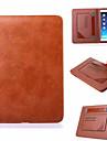 multifuncional ficar estojo de couro super slim para mini Apple iPad 4 (cores sortidas)