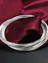 Bracelet Bracelets Rigides Argent sterling Mariage / Soiree / Quotidien / Decontracte Bijoux Cadeau Argent,1pc