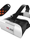 원격 제어와 함께 VR 상자 모바일 3D 안경 가상 현실 헬멧 코 타쿠 폭풍 미러