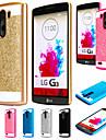Pour Coque LG Plaque Coque Coque Arriere Coque Brillant Dur Polycarbonate pour LG LG G4 LG G3