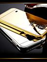 Pour Samsung Galaxy Coque Plaque Miroir Coque Coque Arriere Coque Couleur Pleine Polycarbonate pour Samsung S5