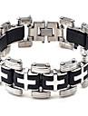 Homme Chaines & Bracelets Colliers chaines Acier inoxydable Original Mode Bijoux Argent Bijoux 1pc