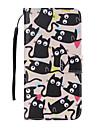 kitten Painted PU Phone Case for Galaxy S6edge Plus/S6edge/S6/S5/S5mini/S4/S4mini/S3/S3mini