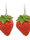 Earring Drop Earrings Jewelry Women Party / Daily Alloy / Resin Red KAYSHINE