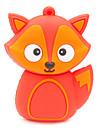 zpk37 8gb красная лиса мультфильм USB 2.0 накопитель флэш-U придерживаться