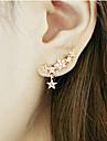 Femme Boucles d\'oreille goutte Personnalise bijoux de fantaisie Alliage Forme d\'Etoile Bijoux Pour
