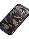 Pour Samsung Galaxy S7 Edge Antichoc Motif Coque Coque Arriere Coque Camouflage Polycarbonate pour SamsungS7 Active S7 plus S7 edge S7 S6
