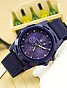 Мужской Спортивные часы Наручные часы Кварцевый Материал Группа Черный Синий Зеленый