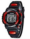 SYNOKE 아동 스포츠 시계 손목 시계 디지털 시계 LCD 달력 크로노그래프 방수 경보 야광의 디지털 PU 밴드 블랙 블루 그린