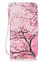 Pour Samsung Galaxy S7 Edge Porte Carte Portefeuille Avec Support Clapet Motif Coque Coque Integrale Coque Fleur Dur Cuir PU pour Samsung