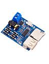 modulo de disco placa de descodificacao de cartao tf u mp3 sem perdas com amplificador de potencia