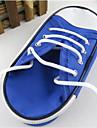 Novo caso de lapis sapatas de lona simples de grande capacidade de papelaria sacos
