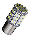 2X Ba15s 1156 Bright White 64 SMD Car RV Tail Brake Backup Reverse LED Bulbs 12V