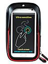 Sac de Velo 5LSac de telephone portable Sac de cadre de velo Sacoche de Guidon de VeloEtanche Zip etanche Resistant a la poussiere