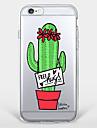 Для С узором Кейс для Задняя крышка Кейс для Цветы Мягкий TPU AppleiPhone 7 Plus / iPhone 7 / iPhone 6s Plus/6 Plus / iPhone 6s/6 /