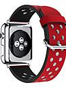 Banda de relogio para Apple Watch series 1 2 faixa de substituicao de couro classica de fivela