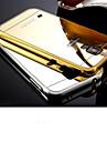 Pour Samsung Galaxy Coque Miroir Coque Coque Arriere Coque Couleur Pleine Polycarbonate pour Samsung S6 edge S6 S5 S4 S3