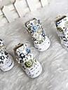 Chien Chaussures & Bottes Mignon Hiver Fleur Blanc Cuir PU