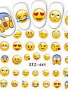 1pcs Стикер искусства ногтя Вода Передача Переводные картинки макияж Косметические Ногтевой дизайн
