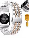 애플 시계 시리즈 시계 밴드 1 2 스테인레스 스틸 팔찌 나비 버클
