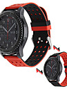 para a engrenagem samsung s3 usar pulseira de borracha de silicone classico relogio banda dupla lado para Samsung Gear s3 fronteira pulso