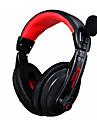 Fone de ouvido de jogo 3,5 milimetros fone de ouvido estereo com fone de ouvido de microfone com cancelamento de ruido skype para pc