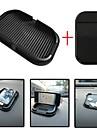 Ziqiao carro painel pegajoso almofada tapete anti antiderrapante gadget telefone movel gps titular acessorios itens interiores (giftscar