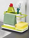1pcs incrivel 3 em 1 armazenamento de luva detritos rack dishclout rack de armazenamento de cozinha stands utensilios