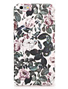 For Apple iPhone 7 7Plus Case Cover Pattern Back Cover Case Flower Hard PC 6s plus 6 plus 6s 6