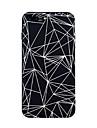 제품 iPhone X iPhone 8 케이스 커버 패턴 뒷면 커버 케이스 타일 라인 / 웨이브 기하학 패턴 소프트 TPU 용 Apple iPhone X iPhone 8 Plus iPhone 8 아이폰 7 플러스 아이폰 (7) iPhone 6s