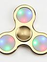 Toupies Fidget Spinner a main Jouets Tri-Spinner LED Spinner EDCSoulagement de stress et l\'anxiete Jouets de bureau Soulage ADD, TDAH,