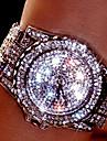 Women\'s Couple\'s Dress Watch Fashion Watch Wrist watch Bracelet Watch Unique Creative Watch Simulated Diamond Watch Pave Watch Quartz
