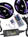 Hkv® 10m (2 * 5m) 5050 300dr strip strip 44key telecommande 5a alimentation ca 100-240v