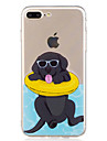 For iPhone X iPhone 8 Case Cover Pattern Back Cover Case Dog Cartoon Soft TPU for Apple iPhone X iPhone 8 Plus iPhone 8 iPhone 7 Plus