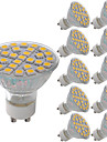 5W Spot LED MR11 29 SMD 5050 380 lm Blanc Chaud Blanc Froid Decorative AC 100-240 V 10 pieces
