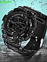 SANDA Men\'s Sport Watch Digital Watch Wrist watch Japanese Digital Calendar Water Resistant / Water Proof Alarm Noctilucent Rubber Band