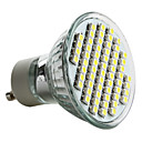 cheap LED Spotlights-6000lm GU10 LED Spotlight MR16 60 LED Beads SMD 3528 Natural White 220-240V