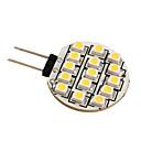Недорогие LED огни для авто-g4 3528 SMD 15 под руководством 0.36w теплый белый лампочка для автомобиля (12 В постоянного тока)