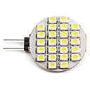 abordables LED à Double Broches-2 W 6000 lm G4 Spot LED 24 Perles LED SMD 3528 Blanc Naturel 12 V