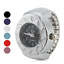 hesapli Ayak bileziği-Kadın's Yüzük Saat Japonca Quartz Gündelik Saatler Alaşım Bant Vintage Gümüş - Kırmzı Mavi Pembe