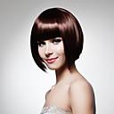 preiswerte Make-up & Nagelpflege-Synthetische Perücken Damen Glatt Rot Synthetische Haare 12 Zoll Rot Perücke Kappenlos Burgund