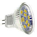 cheap LED Spotlights-2 W 200 lm GU4(MR11) LED Spotlight MR11 9 LED Beads SMD 5730 Warm White 12 V