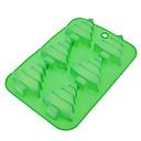hesapli Fırın Araçları ve Gereçleri-Bakeware araçları Silikon Çevre-dostu / Noel Kek / Kurabiye / Tart Pişirme Kalıp 1pc